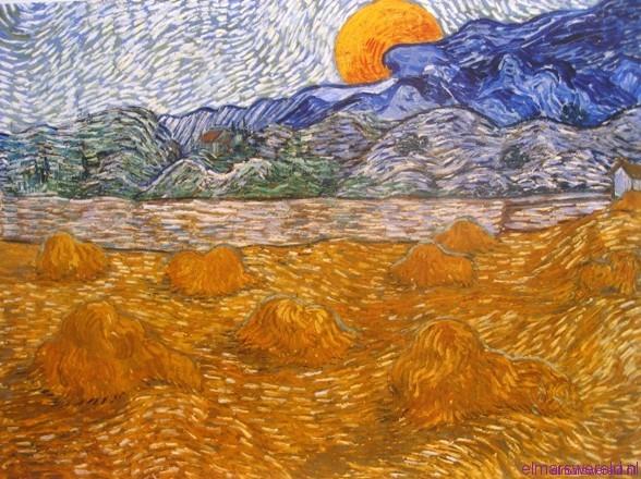 Van gogh en kleur elmarswereld - Kamer schilderij ...